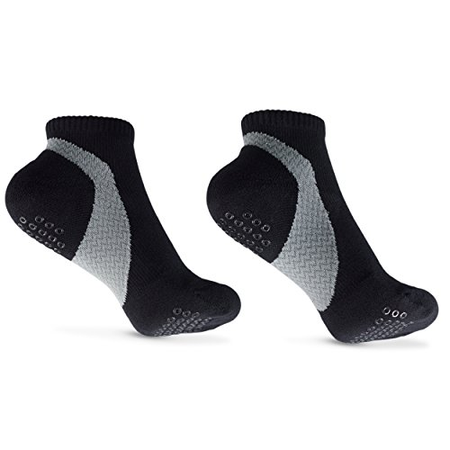 Low Compression Socks for Plantar Fasciitis Women and Mens Arch Support With/Without Grips