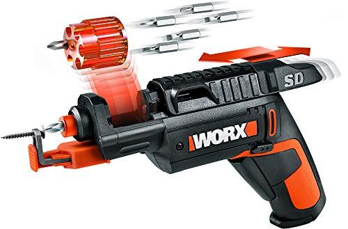 WORX WX255L SD Semi-Automatic Power Screw Driver with Screw Holder (Worx Wx254l Sd Semi Automatic Power Screwdriver)