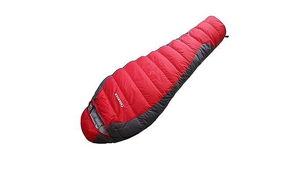 LOLIVEVE Saco De Dormir Al Aire Libre -15-20 Grados C Momia Bag Pato Portátil Portátil A Prueba De Humedad: Amazon.es: Deportes y aire libre