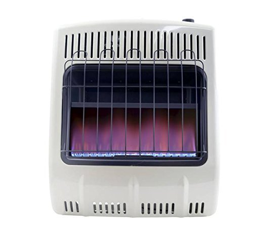 Mr. Heater F299723 20K Vent Free Blue Flame Natural Gas Heater W Blower