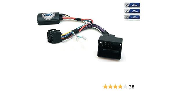 CAN-BUS - Adaptador de mando a distancia para Peugeot 207/208/307/407/807/308/3008/5008/Partner/Expert RCZ para Kenwood Car Stereos