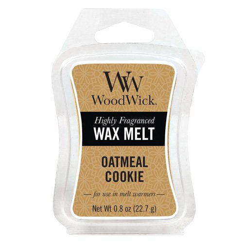 Woodwick Mini Hourglass Wax Melts - Oatmeal Cookies, Yellow 57053