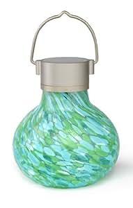 Allsop 30565Solar Tea Lantern, mint jardín, césped, Mantenimiento