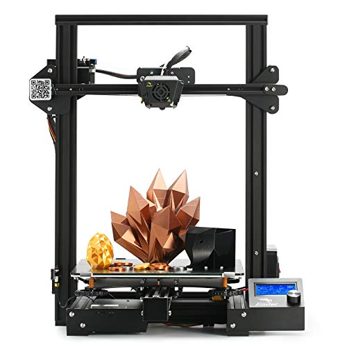 Creality Ender 3 Max 3D Printer Large with MeanWell Powerr Supply Silent Mainboard Carborundum Glass Bed Print Size…