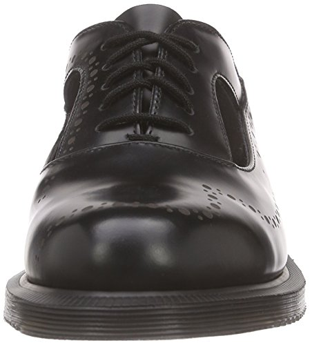 Stringate Ruby Basse Dr Nero nero Martens Brogue Black Scarpe Polished Smooth nero Donna xBwFpYqw