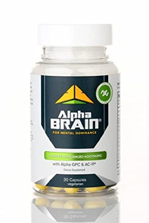 ... Alpha Brain By Onnit Labs Advanced Brain Booster Nootropic Supplement  Ct As Seen On The Joe Rogan Experience Personal Healthcare Health With  Vinyl Kche