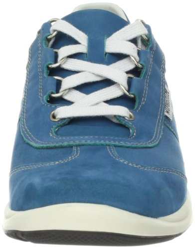 Sneaker Laser Women's Perforated Mephisto Turquoise nubuck pxnBpfw