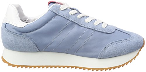 Colette Azul 000 Zapatillas Nylon Mujer Para Klein lbl Calvin suede Bw05xUH6Mq