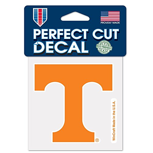 WinCraft NCAA University of Tennessee 48907012 Perfect Cut Color Decal, 4