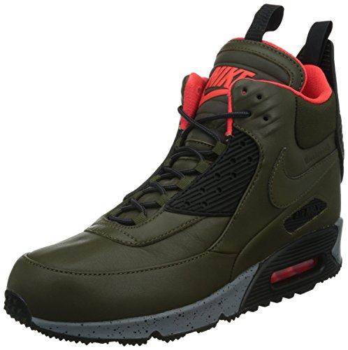 Air Loden brght Uomo Sportive Sneakerboot 90 Dark Nike Wntr Black Crimson Scarpe Max dPxqwz