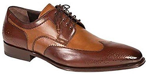 Zapato De Vestir Con Cordones Mezlan Para Hombre, Color Marrón / Marrón, De Mezlan