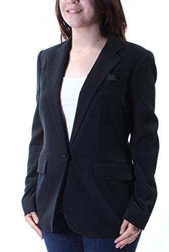 (RALPH LAUREN 298 Womens New 1422 Black Blazer Casual Jacket 4 B+B)