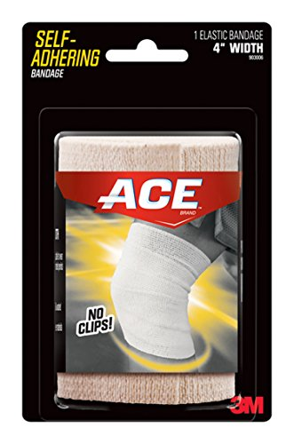 Ace Self-Adhering Elastic Bandage, 4 Inch