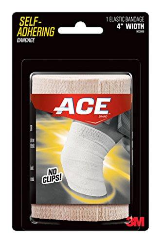 ACE Self-Adhering Elastic Bandage, 4 Inch