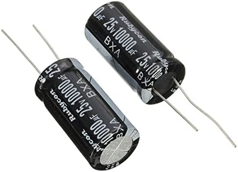 Doradus 10Pcs Radial Electrolytic Capacitor 25V 10000UF 105C