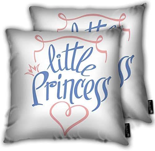 avbvoxy Set of 2 Decorative Throw Pillow Case No Pressure Diamond Heart Sunburst Drop of Blood Cushion Cover Square 18 X 18 Inches