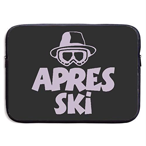 New Apres Ski - Custom Laptop Sleeve 13/15 Inch Chromebook Zipper Briefcase APRES SKI Print Portable Messenger Bag