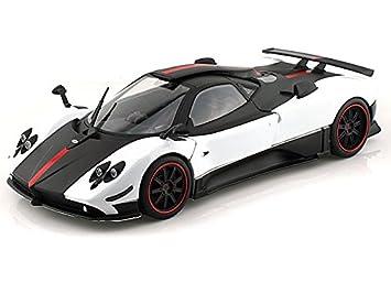 Pagani Zonda 5 Cinque 1/18 White w/ Black: Amazon.co.uk: Toys & Games