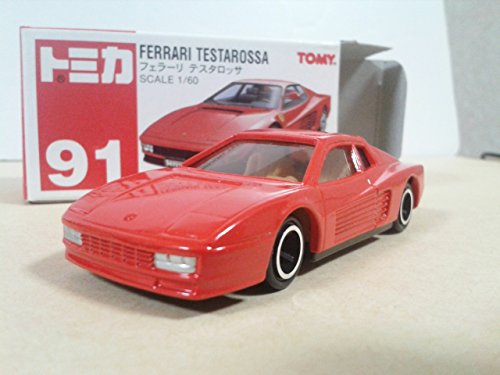 1/60 フェラーリ テスタロッサ(レッド/赤箱) 「トミカ No.91」