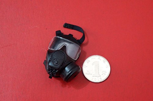 [KNL HOBBY action figure 1:6 DID proportion of the people of Losangeles special police SWAT LAPD 2 Denver gas mask] (Toy Gas Mask)
