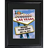 Personalized Gift Vegas Marquee Framed Print