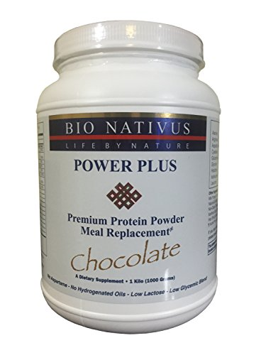 Bio Nativus Power Plus Premium Protein Meal Replacement Chocolate by BioNativus