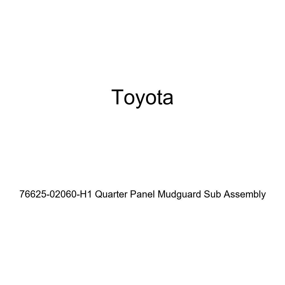 TOYOTA Genuine 76625-02060-H1 Quarter Panel Mudguard Sub Assembly