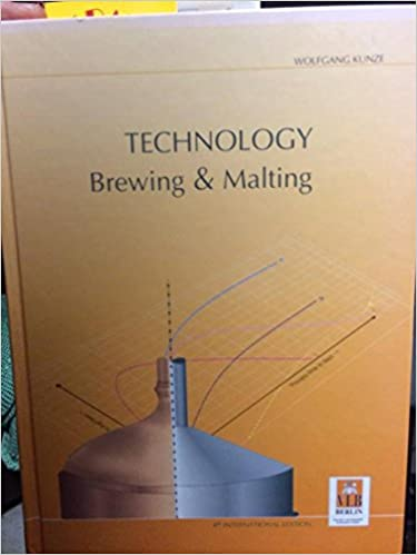 Wolfgang Kunze Technology Brewing And Malting Ebook Download