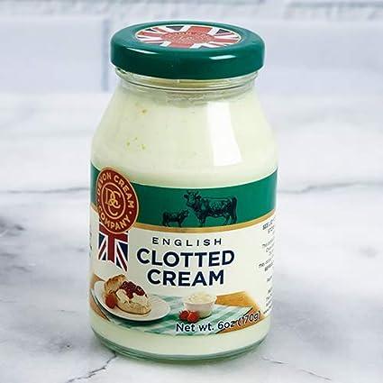 Clotted Cream – Plain (6 onzas): Amazon.com: Grocery ...