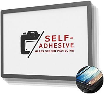 6-Schicht-Prinzip plus Schutzrahmen LCD-Echtglas-Protektor GGS LCD Displayschutz Glas f/ür Sony Alpha 6000 6300 A6000 A6300