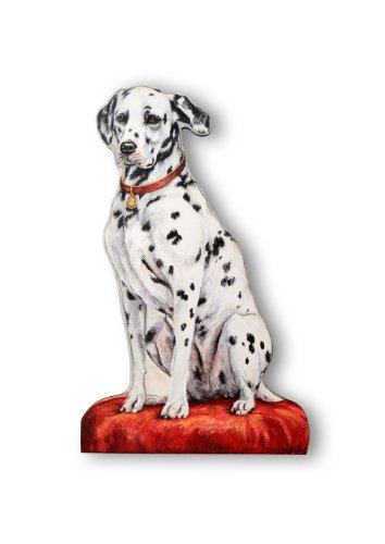 Stupell Home Décor Dalmatian Decorative Dog Door Stop, 18 x 0.5 x 17, Proudly Made in USA by The Stupell Home Decor Collection