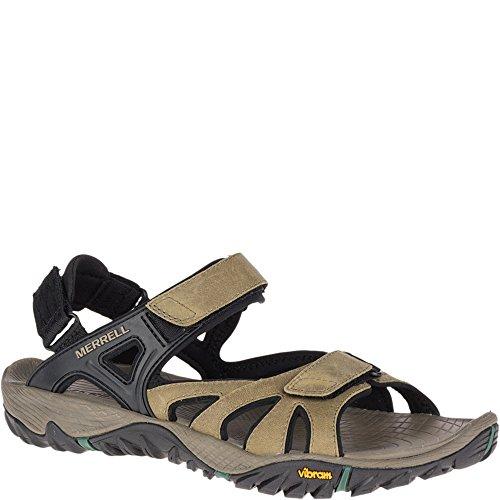 Merrell Mens All Out Blaze Sieve Convert Sport Sandal Stucco 12 Medium US