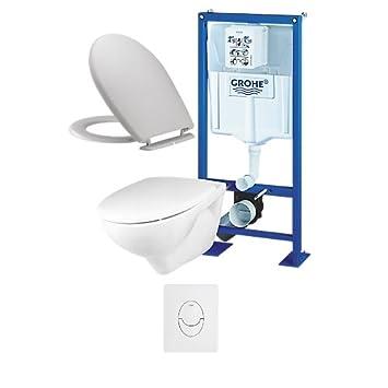 5f749178b9d8fa Bâti support WC suspendu Grohe complet  Amazon.fr  Bricolage