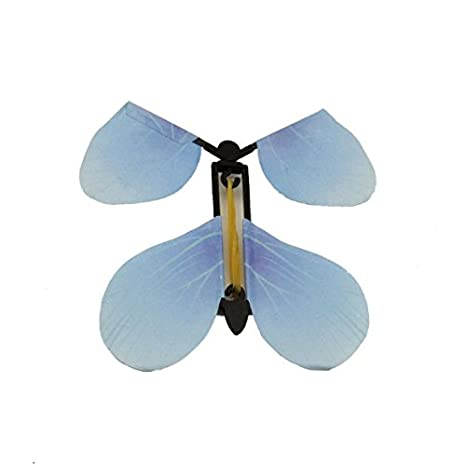 MTSZZF 5X Transform Flyer Fluttering Flying Magic Butterfly Truco Prop Childs Juguete de Regalo