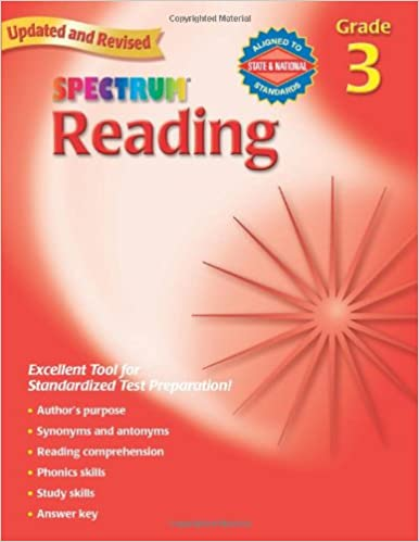 Amazon.com: Spectrum Reading, Grade 3 (9780769638638): School ...