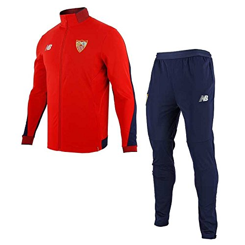 New Balance SFC Trainingsanzug Fußball, Herren, Rot (HRD), 2