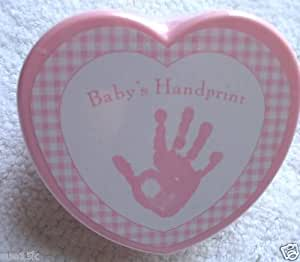 Amazon Com Baby S First Handprint Kit By Stepping Stones