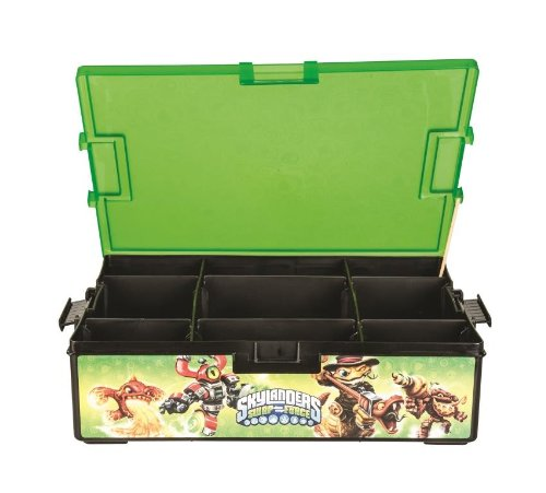 Amazon.com POWER A Skylanders SWAP Force Tackle Box Storage Video Games  sc 1 st  Amazon.com & Amazon.com: POWER A Skylanders SWAP Force Tackle Box Storage: Video ...