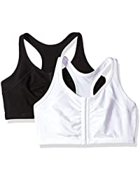 Womens Front Close Racerback (Pack of 2)