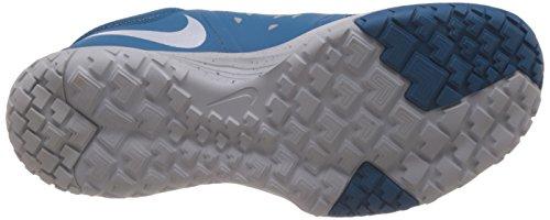 Nike Fs Lite Tränare Ii Män Rund Tå Syntetisk Blå Löparsko Ljusblå Vit Ren Platina 401
