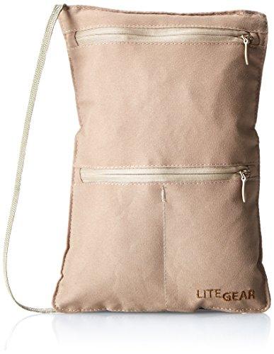 lite-gear-rfid-microfiber-neck-wallet-tan-one-size