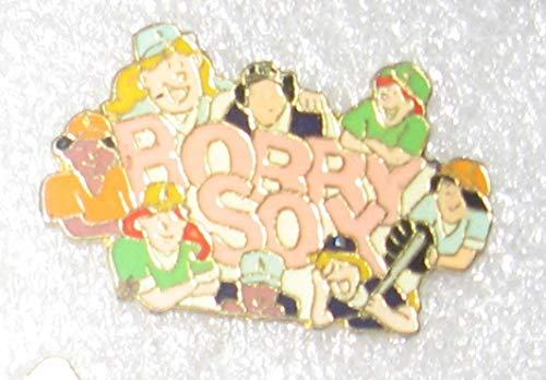 Bobby Sox, Emmy Lou Prequel, Cloisonne enameled hat pin, Lapel pin. Vintage Collectible. Tie tack Back.
