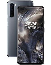 "OnePlus NORD Smartphone Onyx Grey | 6.44"" Fluid AMOLED Display 90Hz |8GB RAM + 128GB Opslag | Quad Camera| Warp Charge 30T | Dual Sim | 5G"