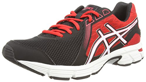 ASICS Gel-Impression 8 - Zapatillas para hombre Negro (Black/White/Fiery Red 9001)