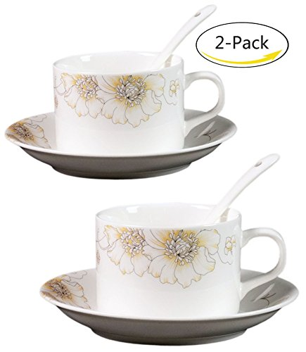 Self Stirring Coffee Mug Set of 5 (Yellow) - 3