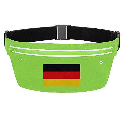 Waist Pack Bag Germany Flag Running Belt Ultrathin Hide Purse Adjustable Waterproof Outdoor