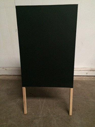 Tabletop Easel 16 X 30 Black Chalkboard Double Sided Sign Menu Sale Special