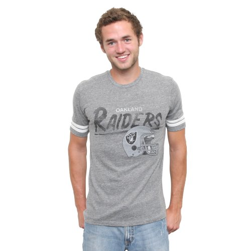 (NFL Oakland Raiders Throwback Stripe T-Shirt, Small [Sports])