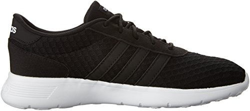adidas Women's Lite Racer W Sneaker, Black/White, 8.5 M US by adidas (Image #7)