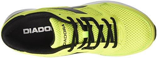 Fluo Adulto Shape Diadora Corsa Giallo 7 – nero giallo Unisex Da Scarpe v70gq